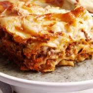 Lasagne bolognese. Wyszła nam idealnie pyszna. Przepis wideo krok po kroku