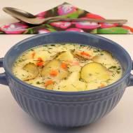 Zupa z ogórków małosolnych