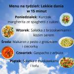 Menu na tydzień: Letnie, lekkie obiady