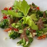 Sałatka z brokuła i kaszy bulgur