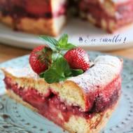 Kruche ciasto z truskawkami i cytryną - nowy post na słodkich sio-smutkach