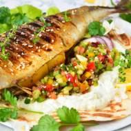Makrela z grilla po indyjsku