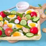 Francuska tarta ze świeżymi warzywami