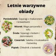Menu na tydzień: Warzywne obiady na lato
