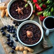 Pieczona owsianka czekoladowo – orzechowa