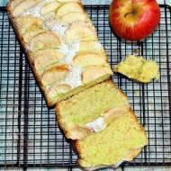 Łatwa babka z kisielem i jabłkami