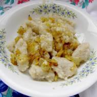 pyszne kluski z surowych ziemniaków...