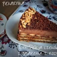 Tort Delicja czekoladowa z galaretką