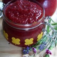 Dżem truskawkowy z jabłkami