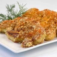 Kalafior gotowany smażony w panierce