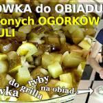 Surówka z kiszonych ogórków i cebuli przepis nr. 2