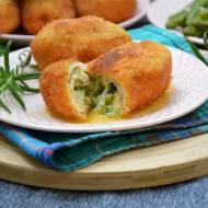Roladki drobiowe z masłem ziołowo-szparagowym