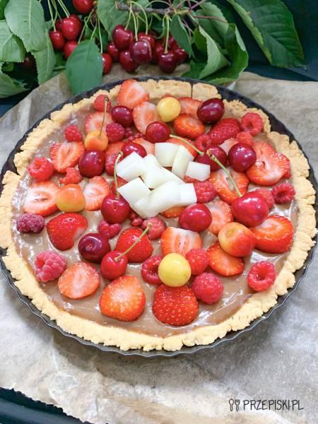 Tarta z owocami