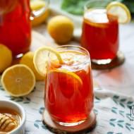 Ice tea – cytrynowa mrożona herbata