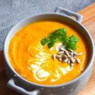 Najprostsza zupa krem z dyni na mleczku kokosowym