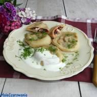 Ravioli z botwinką i fetą