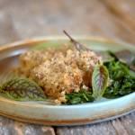 Niby kaszanka – zapiekanka z kaszy i mięsa