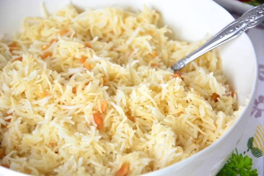 Ryż libański z makaronem vermicelli i orzechami