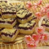 Kruche ciacho z jagodami – pyszne i słodziutkie