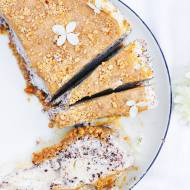 Lodowy snickers cheesecake na upały