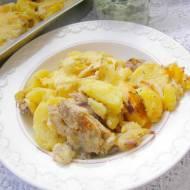 zapiekanka ziemniaczana z mięsem,serem...