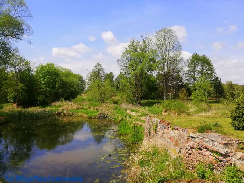 Ruiny dawnego młyna w Emilianowie woj. łódzkie