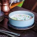 Chłodnik z ogórków i rzodkiewek – obiadek na upały