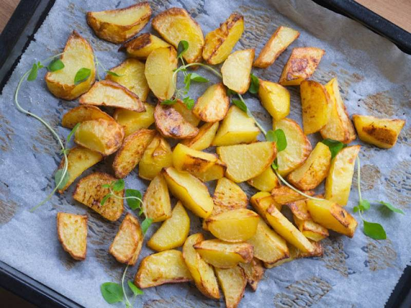 Pieczone ziemniaki (z piekarnika)