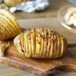 Ziemniaki z grilla z czosnkiem. IDEALNE.