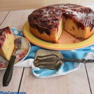 Odwrócone ciasto z wiśniami