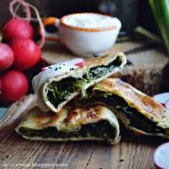 Zhingyalov hats - ormiańskie chlebki z patelni pełne zieleni