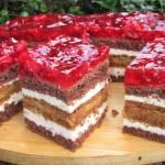 Ciasto Balladyna-z malinami i masą kajmakową, po prostu boskie +FILM