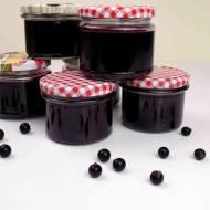 Dżem z czarnej porzeczki – przepis