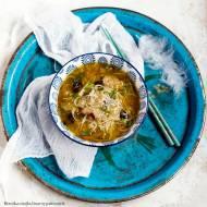Zupa słodko-kwaśna z kurczakiem