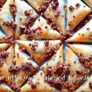 Ciasto filo z orzechami