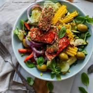Sałatka z grillowanymi warzywami w wersji FIT