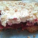Malinowa chmurka nie co inaczej -jedno z najpyszniejszych ciast po karpatce