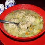 pyszna zupa klopsikowa kartoflanka...