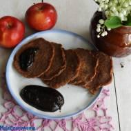 Czekoladowe placuszki z jabłkiem