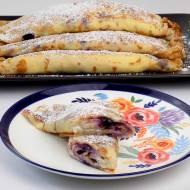 Przepis na naleśniki z serem i jagodami