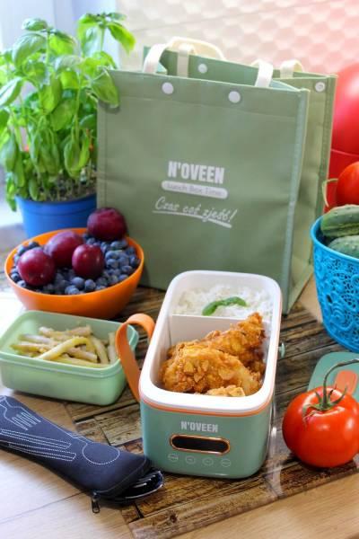 Polędwiczki w chrupiącym cieście i recenzja Multi Lunch Box NOVEEN