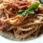 Spaghetti arrabiata z tuńczykiem