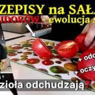 4 Przepis na sałatkę z pomidorów i ...