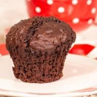 Bardzo  mocno czekoladowe muffinki