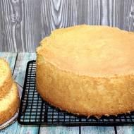 Biszkopt z 3 składników do ciast i tortów (różne wymiary). Przepis na biszkopt 2
