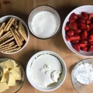 Tarta z mascarpone i truskawkami, bez pieczenia