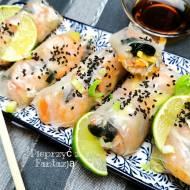 Fresh rolls z krewetkami