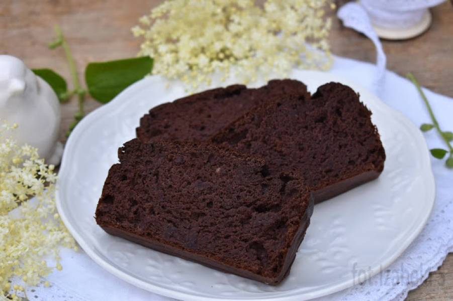 Fasolowo-bananowe brownie