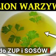Bulion warzywny - baza do zup i sosów