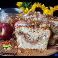 Ciasto kokosowe z prażonymi jabłkami